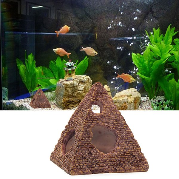Aquarium Fish Tank Decorations Resin Crafts Mini Retro Barrel Reproduction House For Shrimps & Fishes Newest