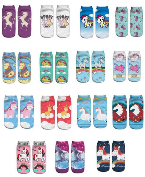 FREE SHIPPING unicorn newest Christmas stocking mix burlap cotton Christmas gift bag stocking 3 styles Christmas tree decoration socks