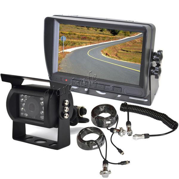 Vardsafe VS707M   Car heavy duty truck Backup Camera System with Trailer Tow Quick Connect / Disconnect Kit