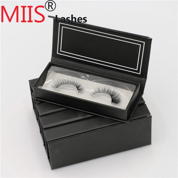 Mink Eyelashes cils de vison de qualité supérieure et cils sur mesure cils de cils de vison 3d faits à la main, cils magnétiques avec cils magnétiques