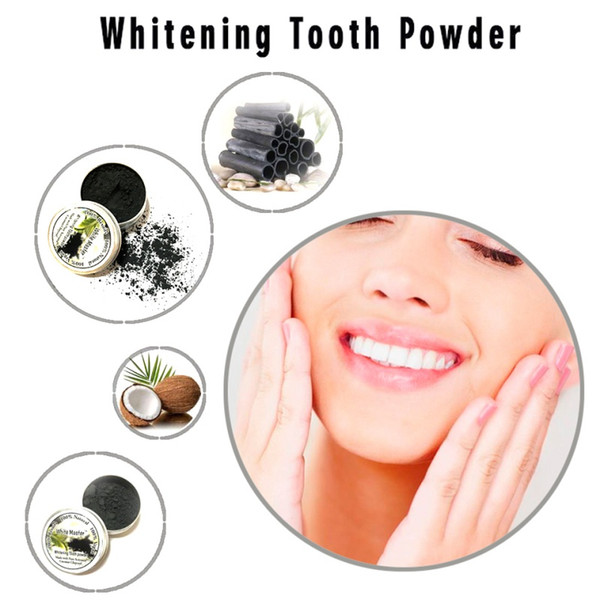 best selling Nature Bamboo Toothpaste Activated Charcoal Tooth Powders Cleaning Teeth Plaque Tartar Removal Coffee Stains