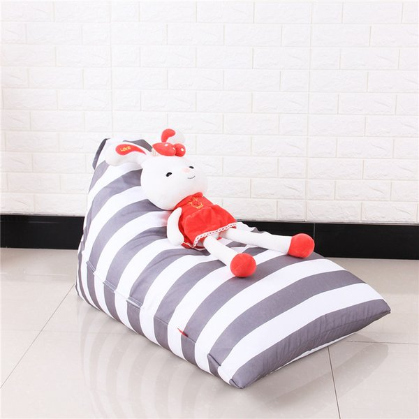 Sensational 2018 Diamond Shape Storage Bean Bag Stripe Kids Plush Toys Bean Bag Portable Clothes Storage Bag Bedroom Chair From Cova Fashion 11 06 Dhgate Com Pdpeps Interior Chair Design Pdpepsorg
