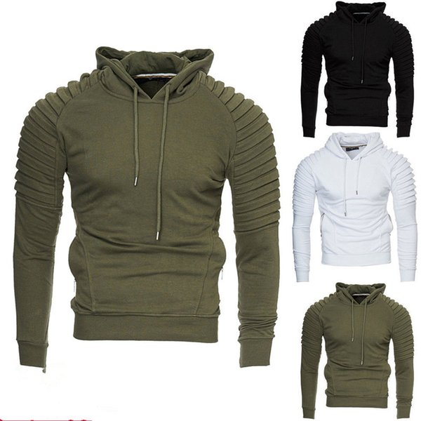 Mens Hoodie Fleece Hoody Jacket Sweatshirt Autunm Fashion Hoodies Harajuku Hooded Pullover Jumper Top Sweat Coat Sudaderas Mujer