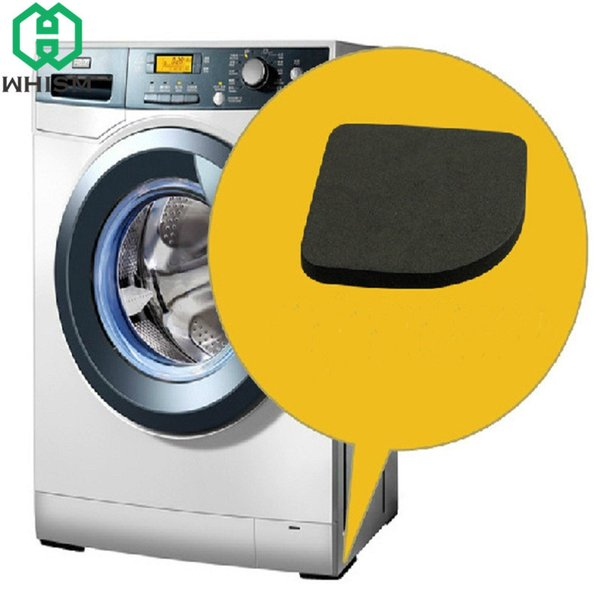 WHISM 8Pcs Rubber Leg Anti-Vibration Non-Slip Washing Machine Pads Refrigerator Chair Desk Feet Mats stoelpoot beschermers
