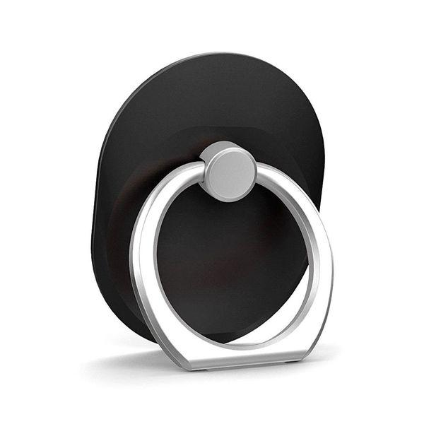 100pcs Finger Ring cell Phone Ring Holder Bracket Metal Lazy Ring Buckle Mobile Phone Bracket 360 Degree Stand Holder For universal mobile