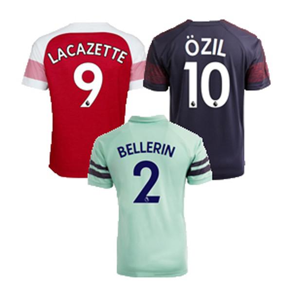 premium selection 905e3 efd31 2018 Kids Arsenal Soccer Jerseys Home Away 3rd 9 Lacazette 10 Ozil 11  Torreira 14 Aubameyang Football Kits Custom Soccer Shirt From Sports_ins,  $16.25 ...