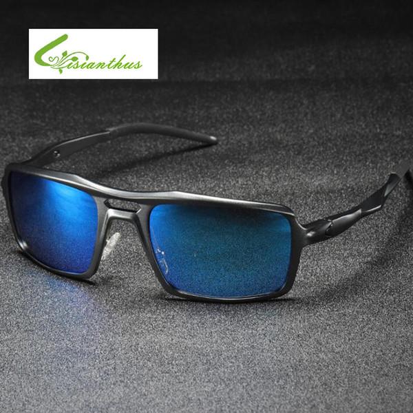 Fashion Sunglasses Men Polarized Aluminium Magnesium Sunglasses Men Driving Black Frame Eyewear Male Classic Design Sun Glasses