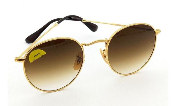 fashion sunglasses 3447 round brand names sunglass 400 uv protection eyewear glass shades block the sunlight
