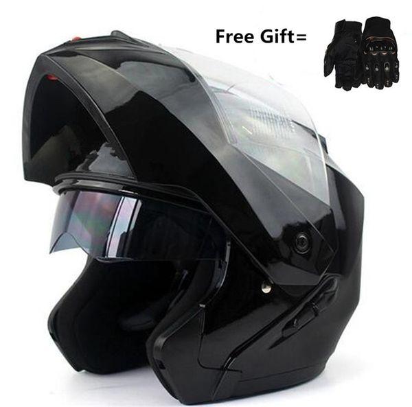 45ca7805 Hot sale ECE Flip Up Motorcycle Helmet Modular Moto Helmet With Inner Sun  Visor Safety Double