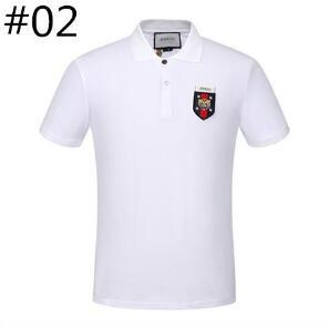 2018 Luxury Brand Air Force One Top Quality Embroidery Men's Aeronautica Militare Men Shirts Brand POLO Diamond Fashion Size M-3XL