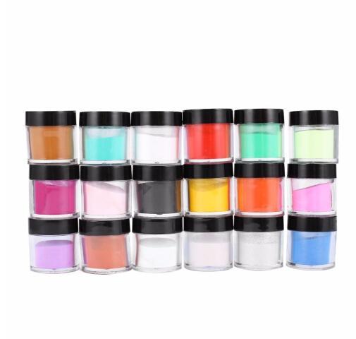 Nail Art Tool Kit Acrylic UV Powder Dust gem Polish Nail Tools Acrylic glitter Powder Nail Art Set decorations