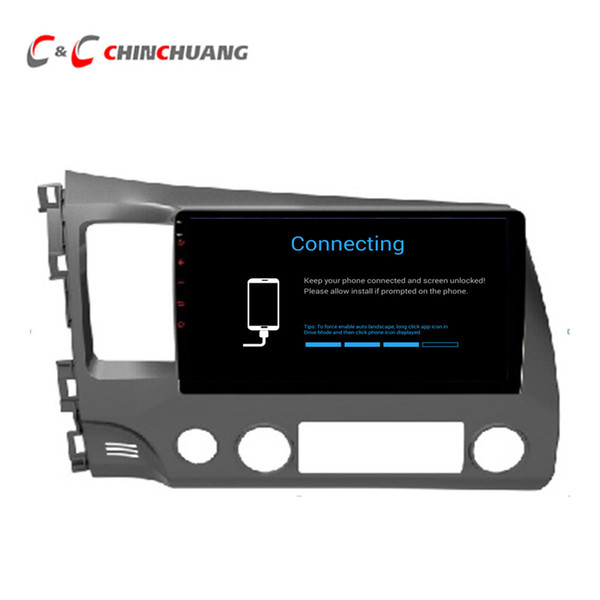 Updated ! T8 Octa-core Android 8.1 Car DVD Player for Honda CIVIC 2006-2011 With GPS Radio BT Wifi 4G DVR 2G RAM