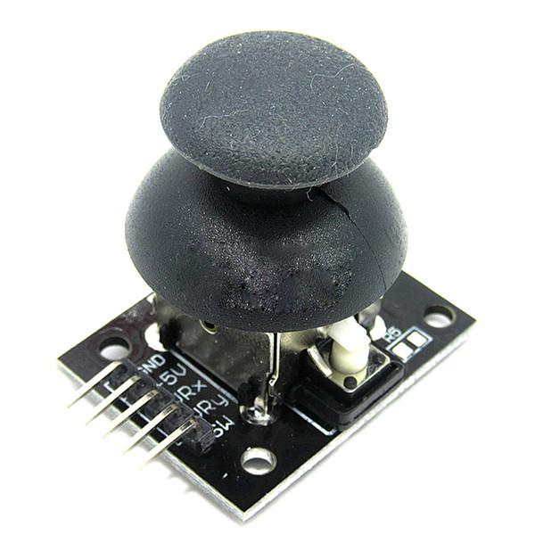 5-pin Çift eksenli Tuş Takımı PS2 Oyun Joystick Kolu Sensörü JoyStick Denetleyici Elektronik Yapı Taşları Arduino Için KY-023
