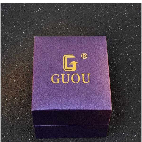 GUOU Original Brand Watch Box Fashion Luxury GUOU Box Gift Watches Accessories