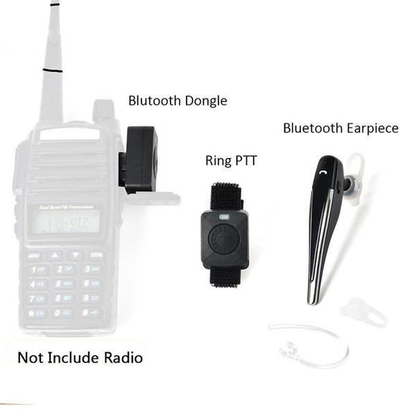 Baofeng Uv 5r Uv 82 Walkie Talkie Wireless Bluetooth Earphone Headset  Earpiece For Motorola Headset Walkie Talkie Rentals Walkie Talkie Sale From