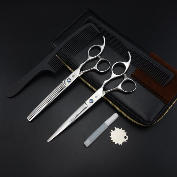 SMITH CHU Professional Hairdressing scissors 7 inch Cutting & Thinning scissors Barber shears S035