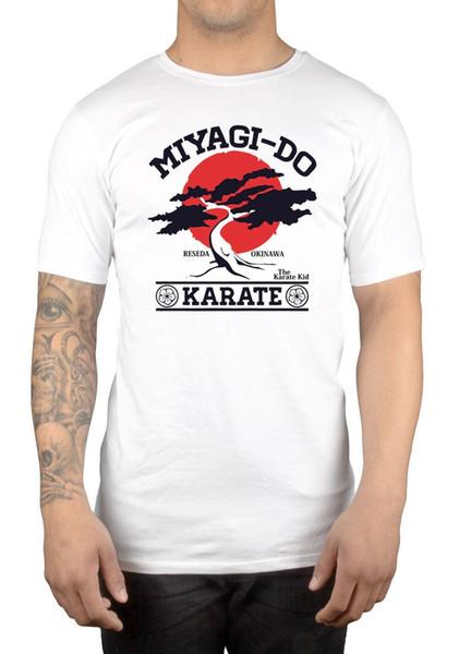 Miyagi Do T-shirt Bonsaï Arbre Karaté 9017w Karaté Enfant Arts Martiaux Japon Années 80