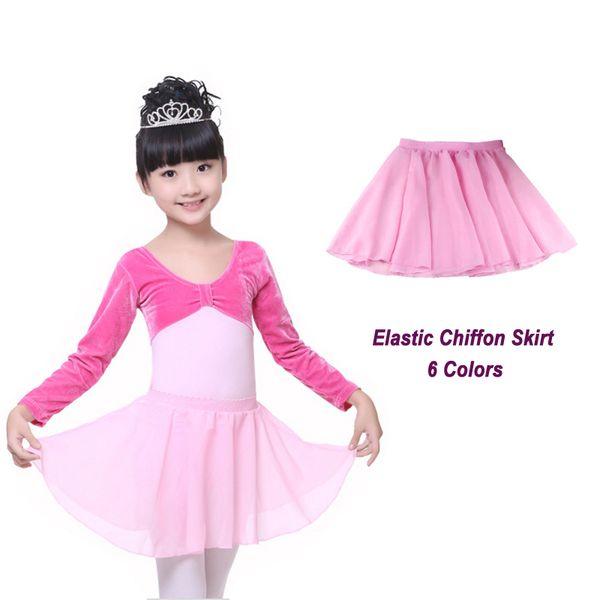 Summer Chiffon Baby Girls Kid Tutu Skirt Pettiskirts Party Ballet Dance Tulle Skirt