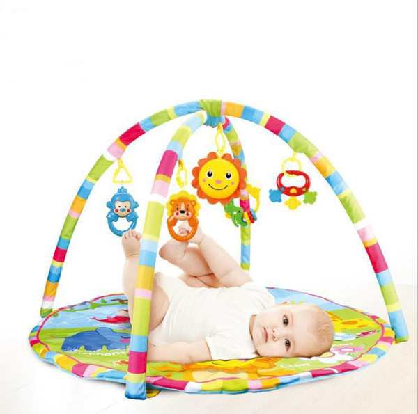 Baby music Educational Multicolor toys cute cartoon animal carpet for 0-12month new kids educational sitting play crawling floor rugs mats