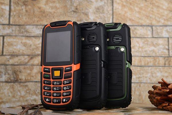 S6 IP67 Russian Waterproof Phone Shockproof Outdoor 2500mAh Battery Long Standby Loud Sound Elder Phone