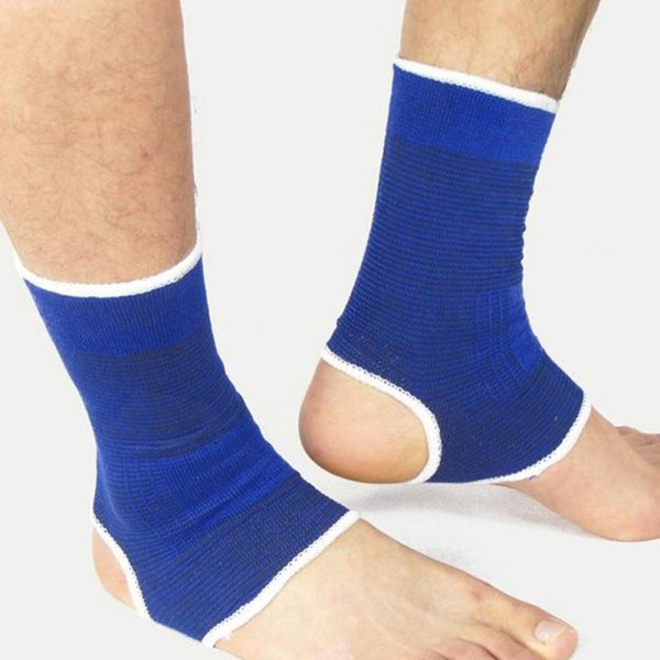 new 2Pcs Ankle Protection Foot Elastic Compression Wrap Sleeve Bandage Brace Support Ankle Protection