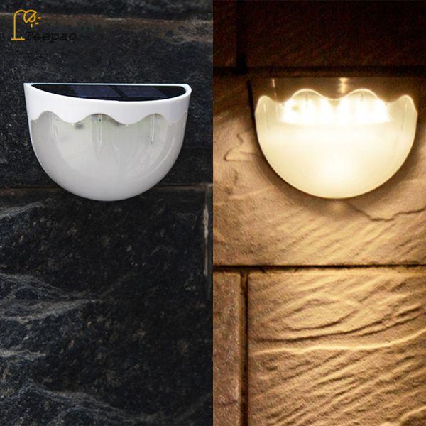118 LED Solarbetriebene PIR Bewegungssensor Wandleuchte For Outdoor Garten Lampe
