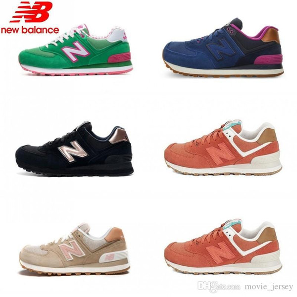 Original new balanced shoes nb574 women new balance shoes 2018 WL574CHD Sneakers Sneakers 2019 Shoes Unique