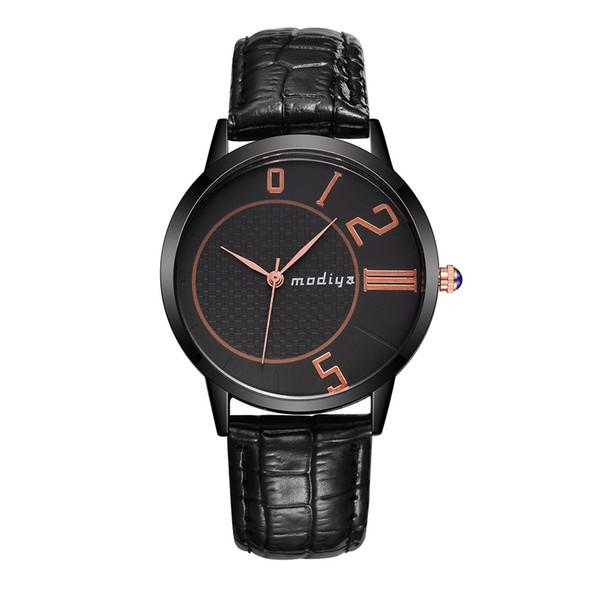Ausgezeichnete Qualität Schnelle Senden Mode Wasserdichte Lederband Quarz Analog Handgelenk Paar Uhren Armbanduhr Drop Shipping C901