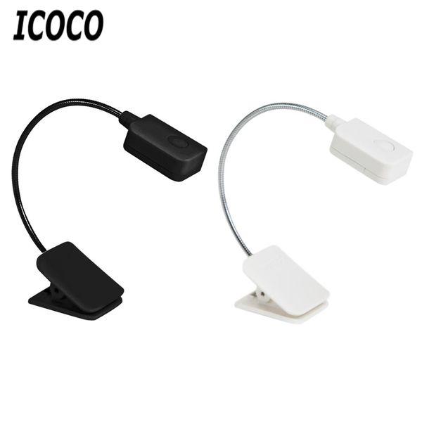 ICOCO Umwelt LED Clip Lampe Schlauch Leselampe Einstellbare Licht Augenpflege Und Innovative Lernlicht Mit Einstellbarer Clip