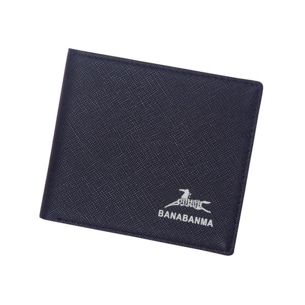 2018 mens wallet PU Standard Wallets Short purse