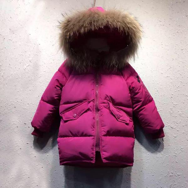 Von Jacke Kinder Oberbekleidung Großhandel Für Mantel Winter Baby Fell Kapuze Kleidung Mädchen 2018 Warme 8vm0wONn
