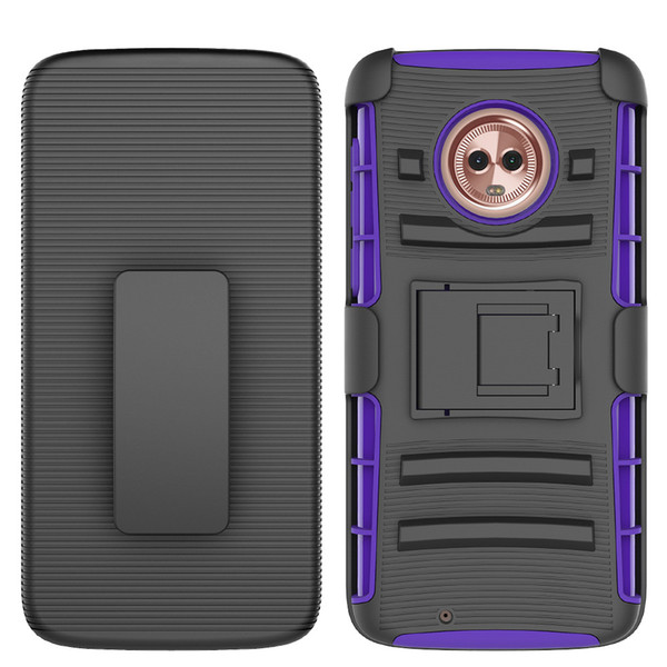 reputable site 5663a 6cc2c Armor Impact Hybrid Hard Phone Case For Alcatel Pixi Glory 4G LTE OneTouch  Flint HTC U11 Ocean U11 Life Cover + Belt Clip Kickstand Stand Cell Phone  ...