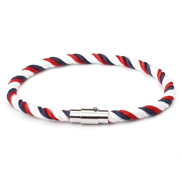 Nouveau bracelet en gros boutique créatif main corde hommes et femmes Europe et Amérique multi-couche tressé twist bracelet bracelet