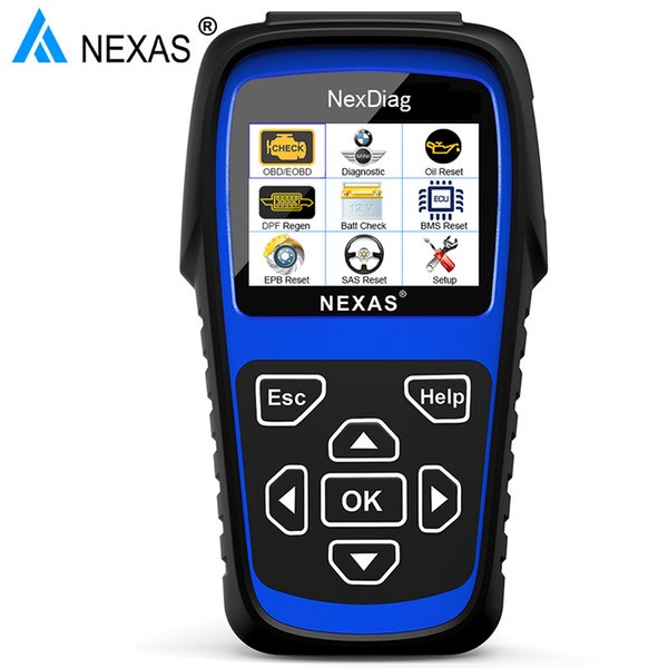 wholesale ND601 OBD2 Car Diagnostic Tool for BMW Mini Automotive Scanner Check Engine ABS SAS Oil BMS DPF System ODB2 Scan Tool