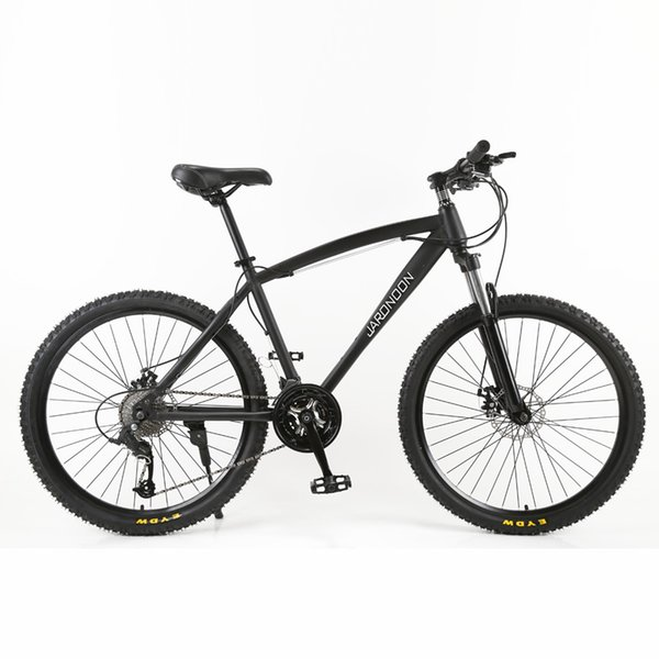 High Quality 26 inch Mountain Bike, 26*18 Large Size Frame MTB Bicycle, 21/27 Speed Double Disc Brake, Lockable Suspension Fork
