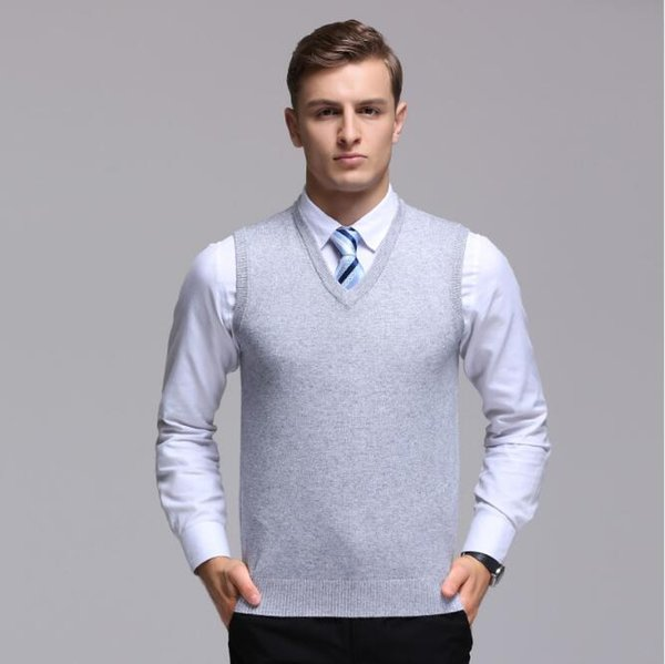 2019 Sweater Men Pullover Cashmere Jumper Classic Sleeveless Sweaters Vest Mens Pull Homme Male Pattern Cashmere Sweater Vest From Apparelbase 20 82