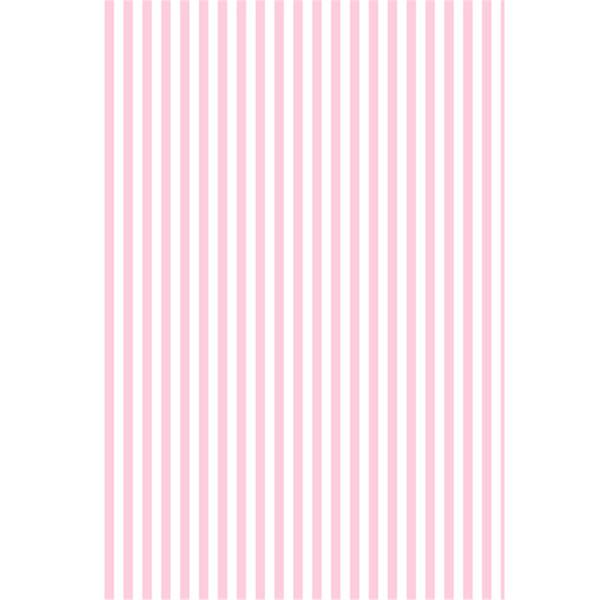 Blanc Rose Stripes Toile de Fond pour La Photographie Imprimé Bébé Nouveau-Né Vinyle Photo Shoot Papier Peint Props Enfants Fête D'anniversaire Booth Fond
