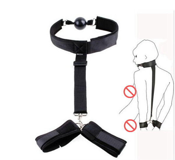 harness nylon belt Sex Toys with ball gag SM Appliances for couples gay bdsm bondage erotic toys tools free shipping