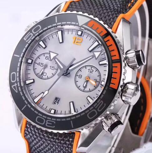 Fa hion luxury brand men watch leather wri twatch port men