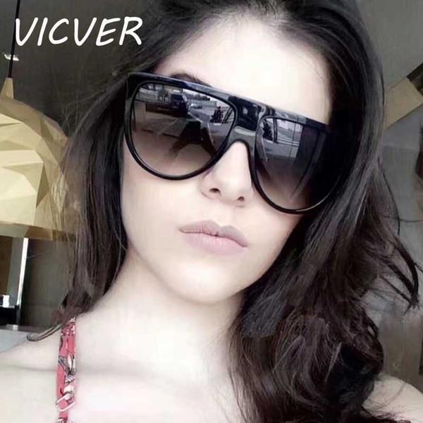 Sunglasses Women 2018 Brand Designer Vintage Square Cheap Sun glasses for Female Retro Oversized Eyewear Gradient Lens Glasses