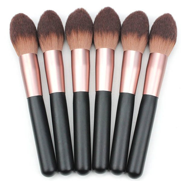 Trucco professionale Spazzola Super Soft Powder Blusher Loose Brush Flame Shape Trucco universale Blush Beauty Tools Nuovo arrivo 3001180