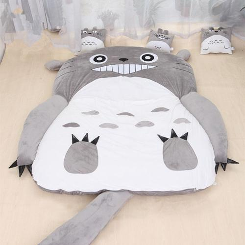 11Open Mouth Totoro_120cm x 70cm for kid