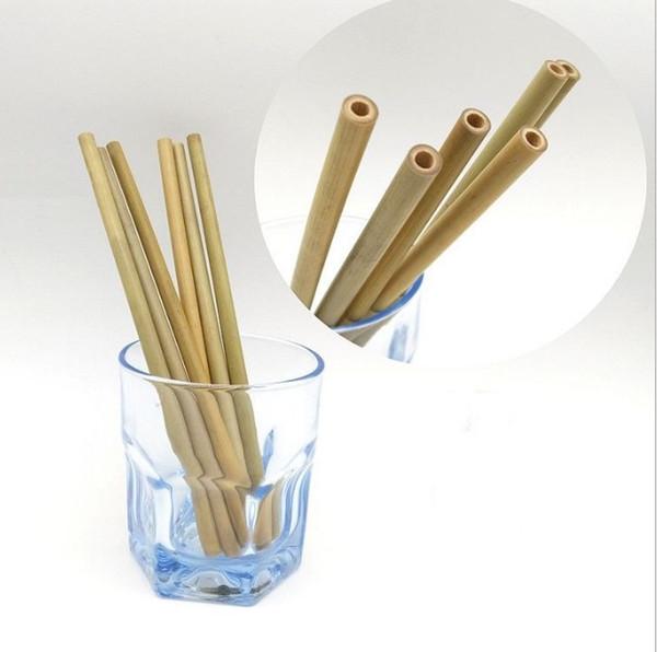 Cannucce Di Bamb.Acquista Cannucce Di Bambu Cannucce Riutilizzabili Cannucce Di Bambu Organiche Cannucce Di Legno Naturale Lo Strumento Della Barra Di Nozze Di