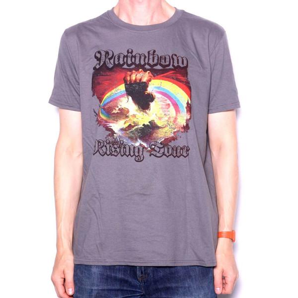 Camiseta Arco-Íris - Rising Tour 76 100% Oficial Deep Purple Blackmore's Night