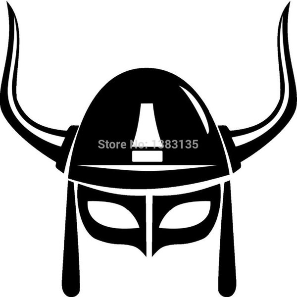 2019 Hotmeini Wholesale Big Giant Viking Helmet Car Sticker For Truck Window Bumper Suv Door Laptop Kayak Vinyl Decal From Iyouyou 3016