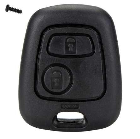 2 boutons télécommande clé de voiture fob cas couverture coque de remplacement pour Citroen C1 C2 C3 C4 XSARA Picasso Peugeot 107 207 307 D05