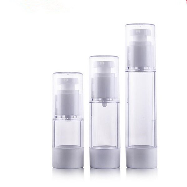 Kostenloser Versand - 50ml Airless-Flasche, Kosmetikpaket, Kosmetikbehälter, Pumpflasche