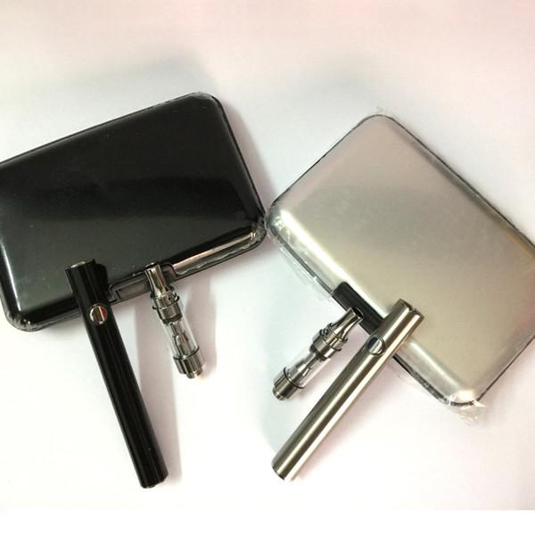 Amigo 380mah preheat battery aluminum case Liberty V1 V5 V9 Ceramic wickless atomizer Bud Touch Vaporizer Pen Cartridge disposable vape pen
