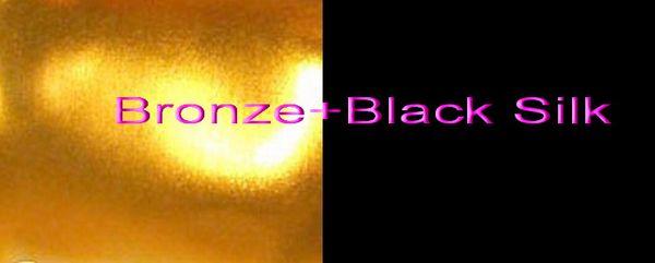 Bronze+Black Silk