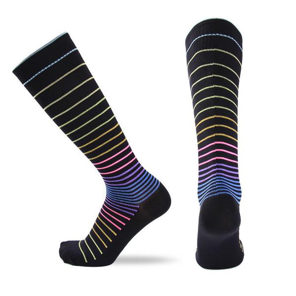 Women's Knee High Socks - Fashion Sports Compression Fit Breathable Long Socks For Women - Women Leg Support Warm